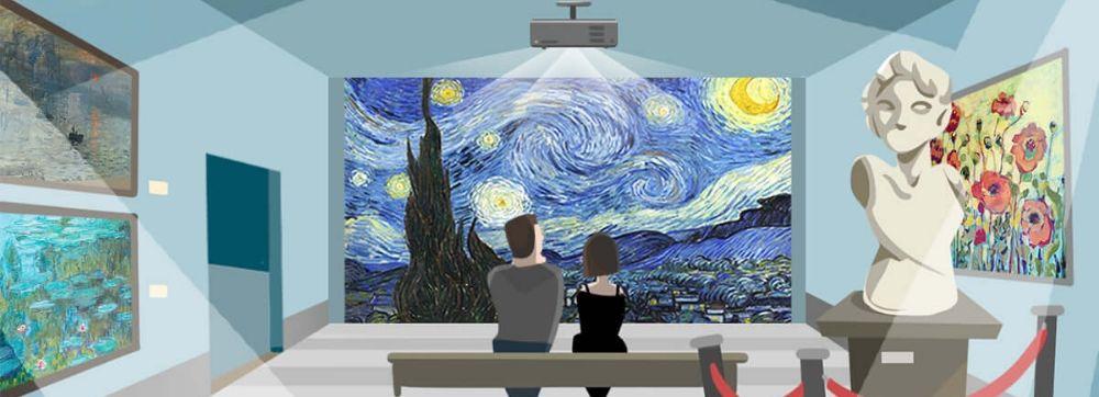 Considera un nuevo proyector láser para grandes espacios