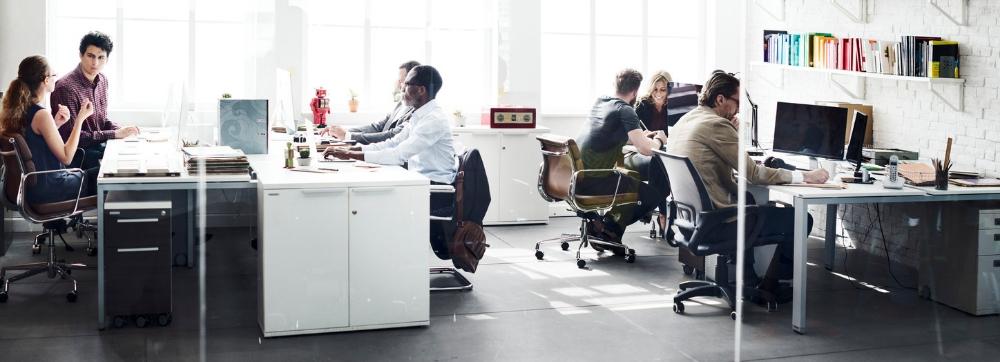 Oficina BenQ Soluciones para corporativo
