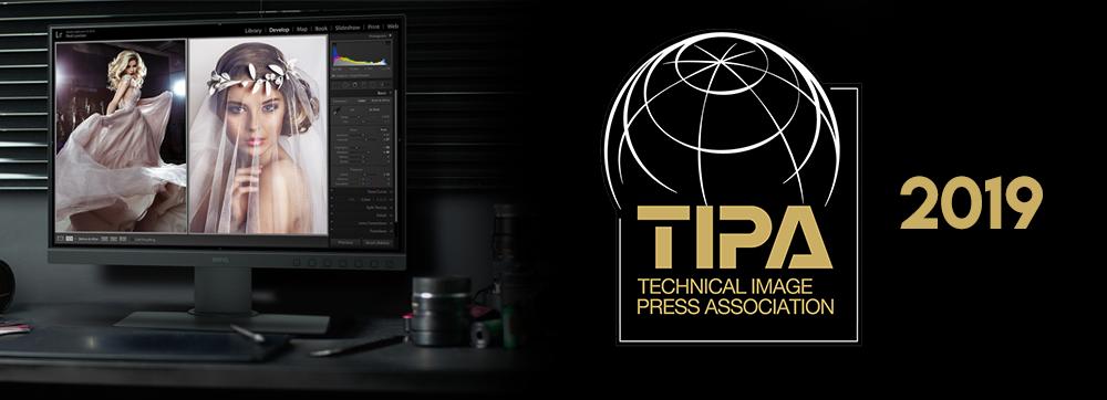 Monitor para fotografía BenQ SW240 gana premio TIPA 2019