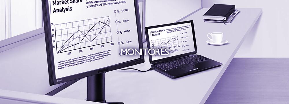 Ergonomía, economía y ecología en un monitor para oficina