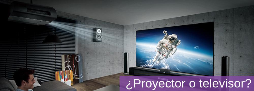 5 razones convincentes para elegir un proyector sobre una TV