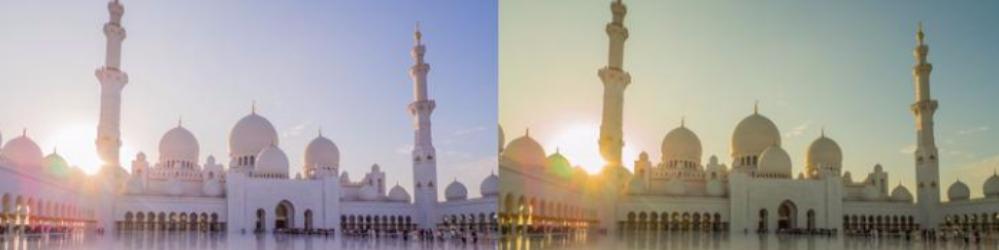 Como o ajuste de cor afeta a aparência das fotos?