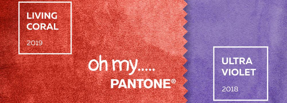 E a cor do ano de Pantone é...