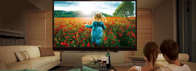 Televisi n vs proyector para cine en casa - Television en casa ...