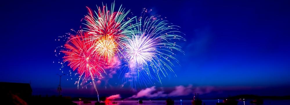 fogos de artifício capa ano novo