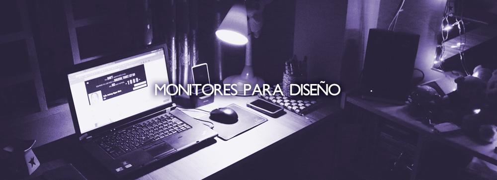 ¿Por qué comprar un monitor de diseño?