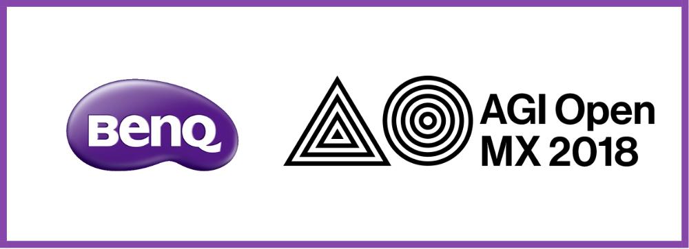 BenQ presente en el AGI Open MX 2018